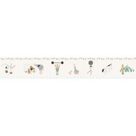 Frise papier peint Cirque