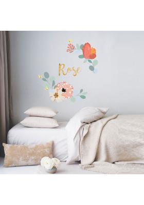 Fleurs de mur GRANDS - personnalisée