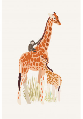Poster - Giraffe