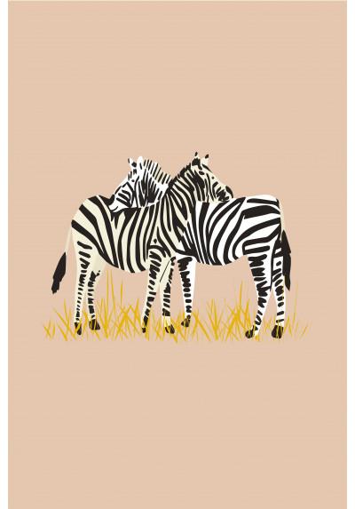 Affiche - Zebres