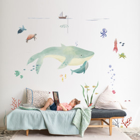 Sticker géant - L'Océan