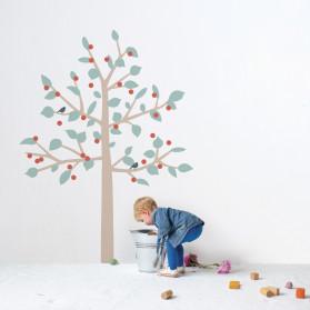 GIANT STICKER - BIG CHERRY TREE