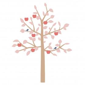 STICKER GEANT - BIG APPLE TREE ROSE
