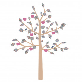 GIANT STICKER - BIG APPLE TREE LIBERTY