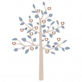 GIANT STICKER - BIG FAMILY TREE BLUE