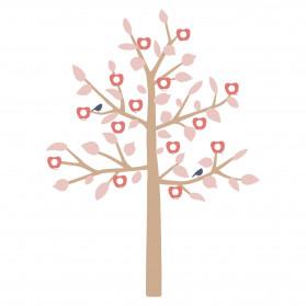 STICKER GEANT - BIG FAMILY TREE ROSE