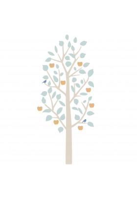 SMALL APPLE TREE bébé bleu