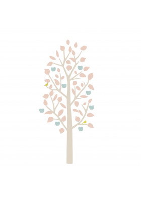 SMALL APPLE TREE LIBERTY baby pink