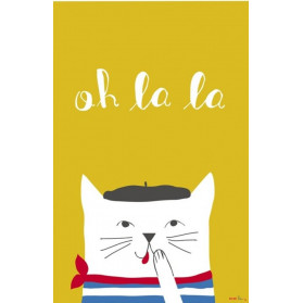 Affiche French Cat
