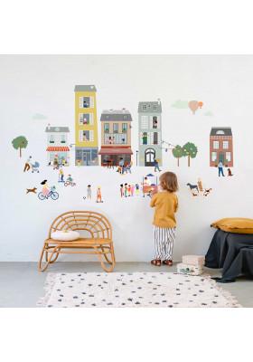 Giant sticker - My village