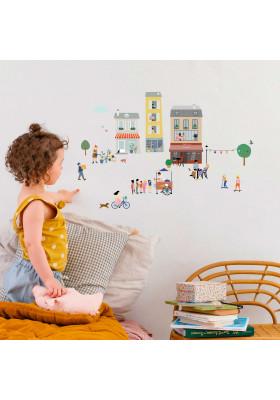 Sticker - Mon village