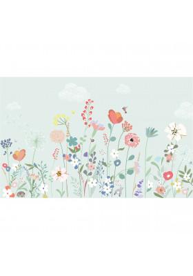 XL wallpaper - Fleurs des champs