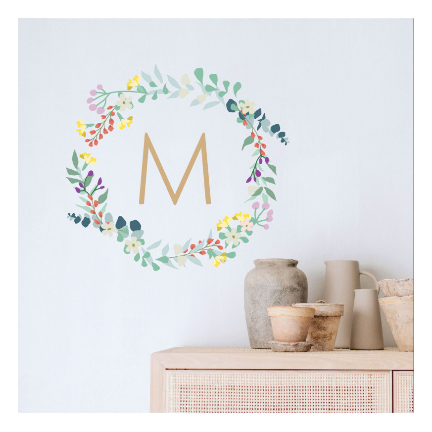 Customizable wall decals